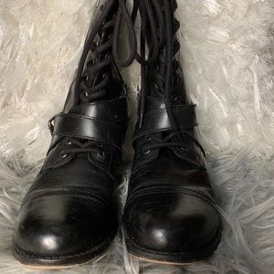COPY - Kenneth Cole Military Lace Boots